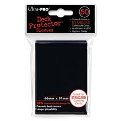 Black Standard Deck Protectors - 50ct