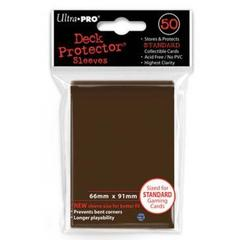 Brown Standard Deck Protectors - 50ct