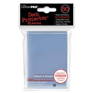 50ct Clear Standard Deck Protectors