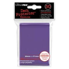 50ct Purple Standard Deck Protectors