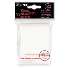 50ct White Standard Deck Protectors