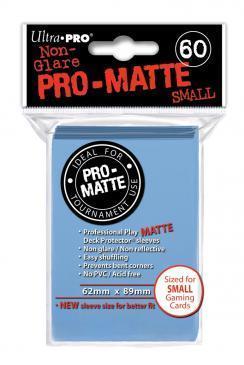 60ct Pro-Matte Light Blue Small Deck Protectors
