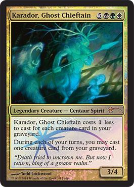 Karador, Ghost Chieftain (Judge Foil)