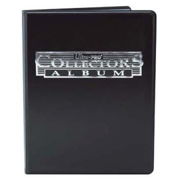 9-Pocket Black Collectors Portfolio