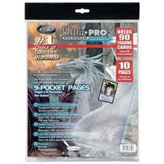 9-Pocket 11-Hole Platinum Page Refill Pack (10-pack)