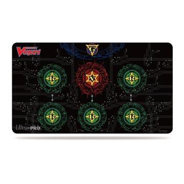 Base Red on Black Play Mat for Cardfight!! Vanguard