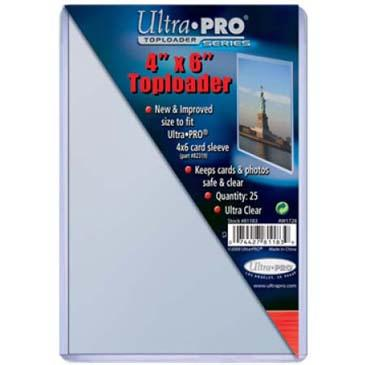 4 X 6 Toploader 25ct Pack