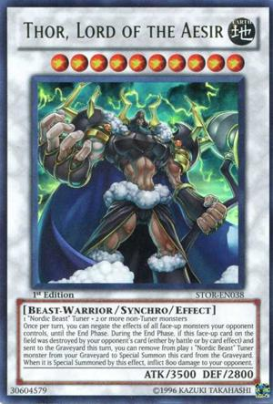 Thor, Lord of the Aesir - SP14-EN048 - Common - 1st Edition