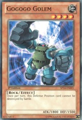 Gogogo Golem - SP14-EN001 - Starfoil Rare - 1st Edition on Channel Fireball