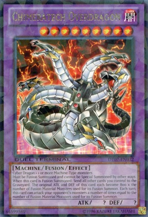 Chimeratech Overdragon - SP14-EN043 - Starfoil Rare - 1st Edition