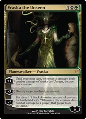 Vraska the Unseen - Foil on Channel Fireball