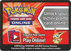 Victini Collector's Tin Code Card
