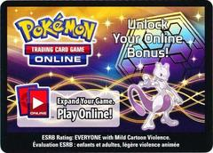 Mewtwo Collector's Tin Code Card