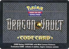 Dragon Vault Booster Pack Unused Code Card