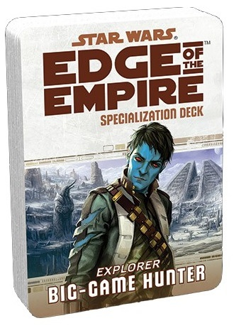 Star Wars: Edge of the Empire: Big Game Hunter Specialization Deck