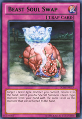 Beast Soul Swap - Green - DL16-EN015 - Rare - Unlimited Edition on Channel Fireball