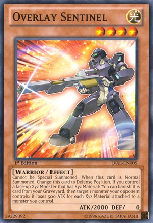 Overlay Sentinel - LVAL-EN005 - Common - Unlimited