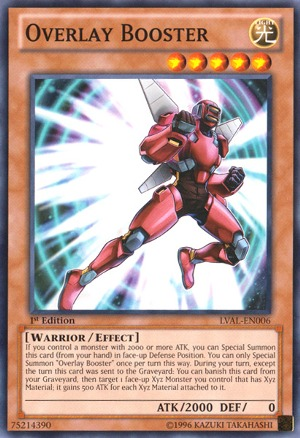 Overlay Booster - LVAL-EN006 - Common - Unlimited