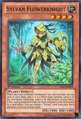 Sylvan Flowerknight - LVAL-EN018 - Super Rare - Unlimited