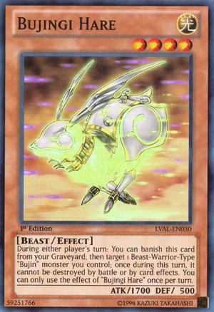 Bujingi Hare - LVAL-EN030 - Super Rare - Unlimited