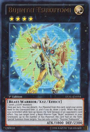 Bujintei Tsukuyomi - LVAL-EN054 - Ultra Rare - Unlimited
