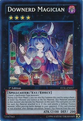 Downerd Magician - LVAL-EN057 - Secret Rare - Unlimited on Channel Fireball
