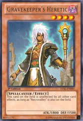 Gravekeeper's Heretic - LVAL-EN084 - Rare - Unlimited