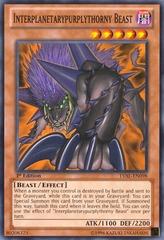 Interplanetarypurplythorny Beast - LVAL-EN098 - Common - Unlimited
