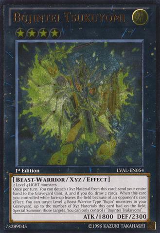 Bujintei Tsukuyomi - LVAL-EN054 - Ultimate Rare - Unlimited Edition