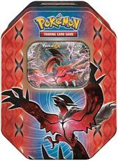 Pokemon Legends of Kalos Yveltal EX Tin
