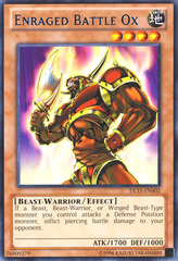 Enraged Battle Ox - Blue - DL15-EN002 - Rare - Unlimited Edition on Channel Fireball