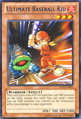 Ultimate Baseball Kid - Blue - DL15-EN003 - Rare - Unlimited Edition