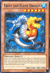 Frost and Flame Dragon - Blue - DL15-EN005 - Rare - Unlimited Edition on Channel Fireball