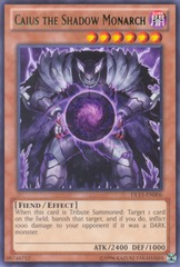 Caius the Shadow Monarch - Green - DL15-EN006 - Rare - Unlimited Edition on Channel Fireball