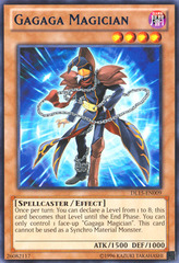 Gagaga Magician - Blue - DL15-EN009 - Rare - Unlimited Edition on Channel Fireball