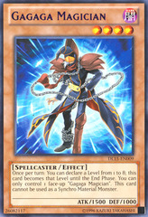 Gagaga Magician - Purple - DL15-EN009 - Rare - Unlimited Edition