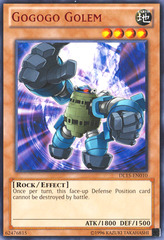 Gogogo Golem - Red - DL15-EN010 - Rare - Unlimited Edition