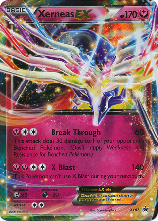 Xerneas-EX - XY07 - Legends of Kalos Promo