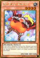 Big Belly Knight - PGLD-EN004 - Gold Secret Rare - 1st Edition