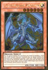 Lightpulsar Dragon - PGLD-EN039 - Gold Rare - 1st Edition