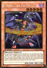 Darkflare Dragon - PGLD-EN040 - Gold Rare - 1st Edition on Channel Fireball