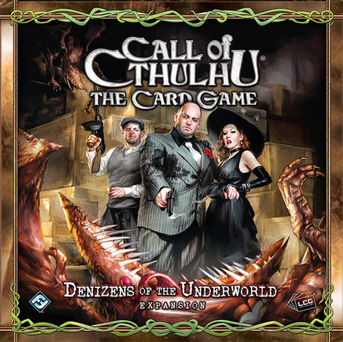Call of Cthulhu: The Card Game - Denizens of the Underworld Pack