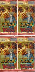 Cardfight Vanguard Sealed Onslaught of Dragon Souls Booster Pack 4 Pack Lot