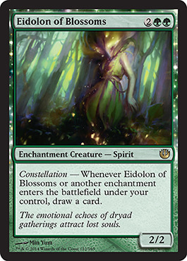 Eidolon of Blossoms - Foil