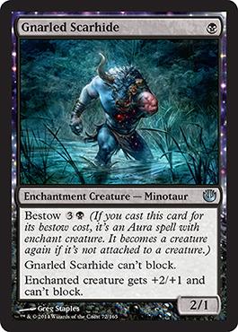 Gnarled Scarhide - Foil
