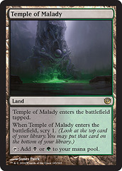 Temple of Malady on Channel Fireball