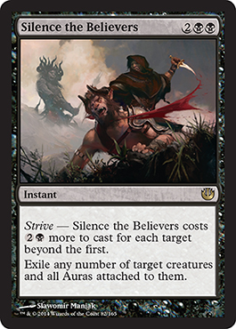 Silence the Believers - Foil