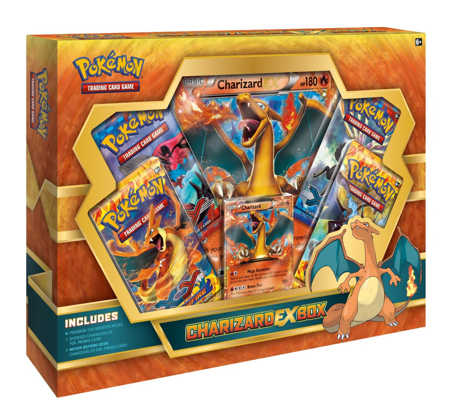 Pokemon 2014 Charizard EX Collection Box -- CHECK PIC!