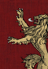 Art Sleeves - House Lannister 50 ct