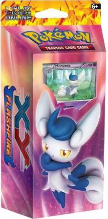 XY Flashfire - Meowstic Theme Deck